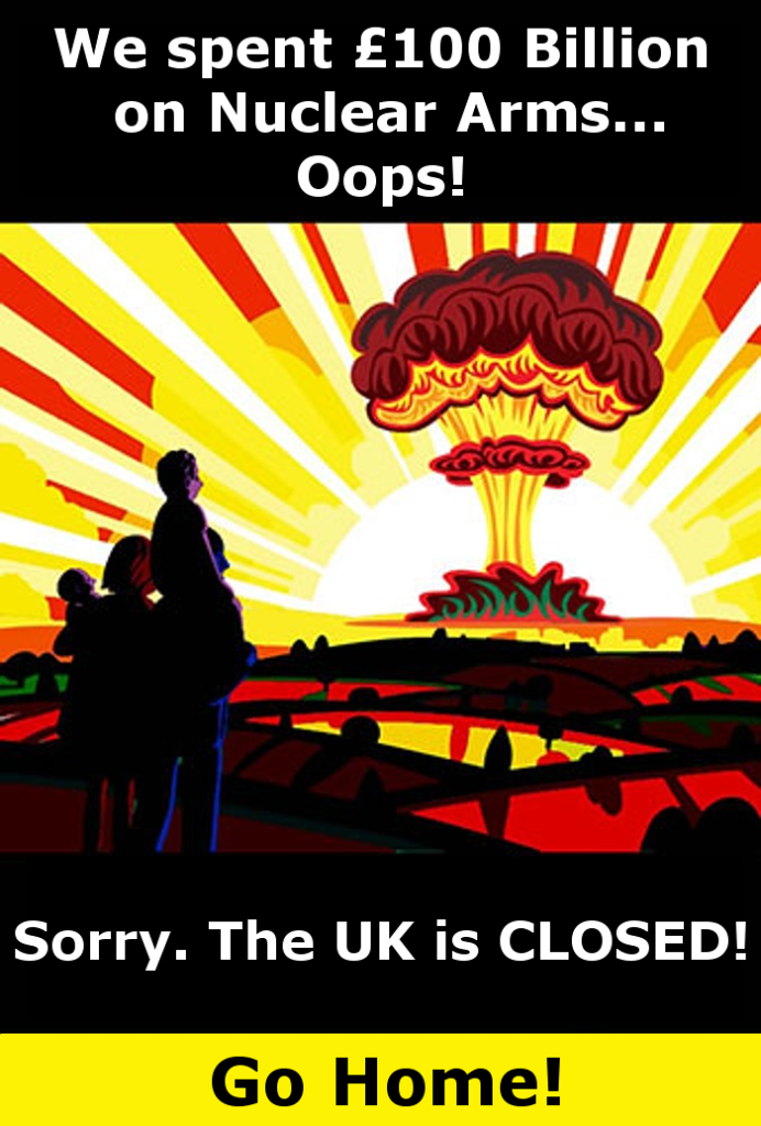 nuclear disaster poster