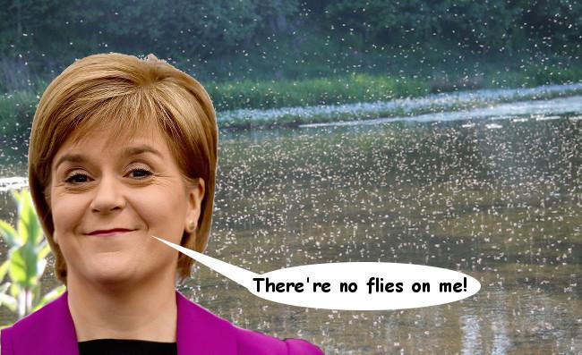 Nicola Sturgeon - Evil!